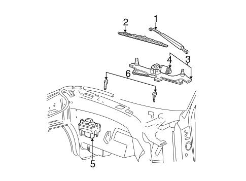 55 Ford wiper motor