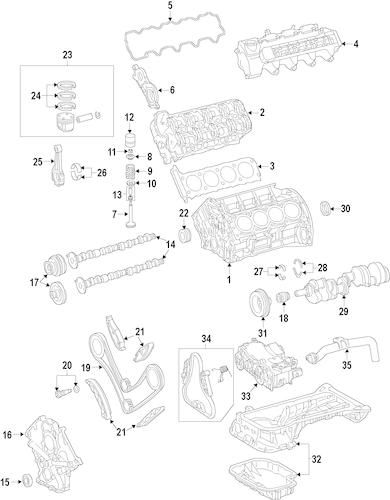 MOUNTS for 2009 Mercedes-Benz C63 AMG
