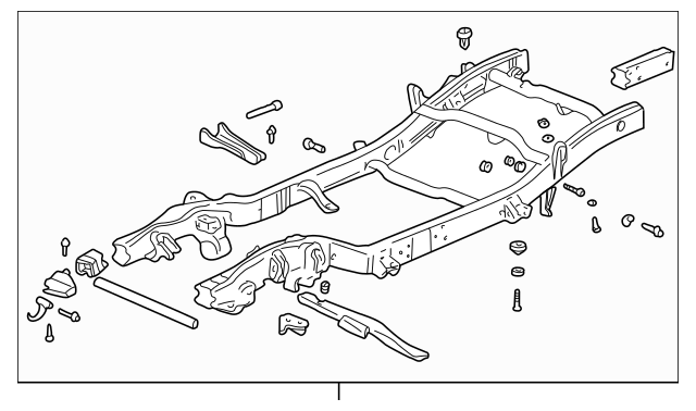 OEM FRAME ASSY (21997061) for your GM Vehicle