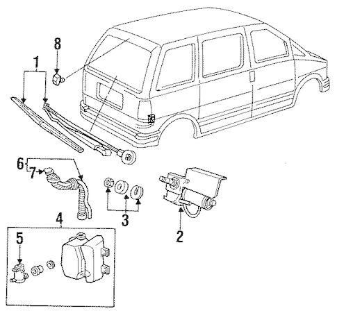95 Ford Aerostar Wiring Diagrams. Ford. Auto Wiring Diagram