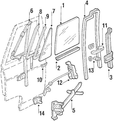 REGULATOR for 1993 Chevrolet G10|14040341