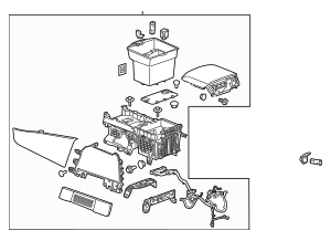 OEM CONSOLE ASSY (23245244) for your GM Vehicle