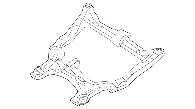 ENGINE CRADLE for 2005 Nissan Altima|54400-8Y102