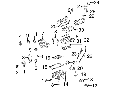 Genuine GM INTAKE MANIFOLD (89017809)