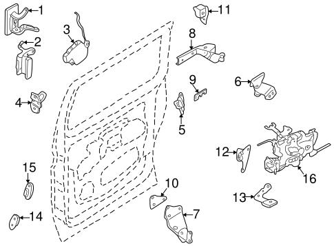 Sliding Door Parts: Nissan Quest Sliding Door Parts
