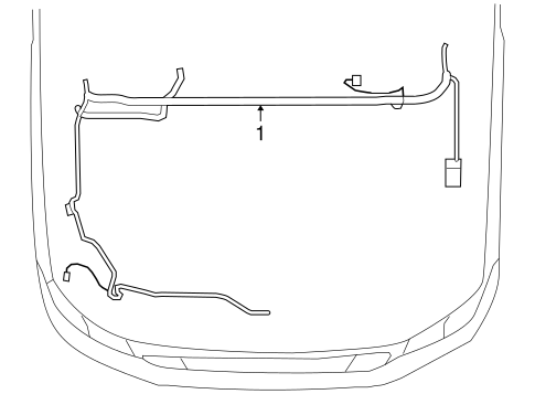 WIRING HARNESS for 2004 Ford F-150