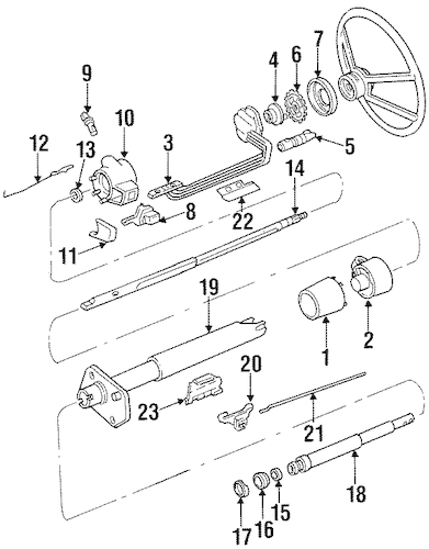 SWITCHES for 1988 Chevrolet K1500 Pickup
