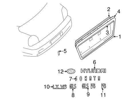 Service manual [How To Remove 2003 Hyundai Sonata Exterior