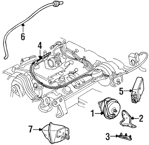 Diagram 96 Lincoln Continental Engine File Mf76287