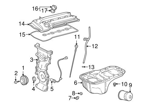 Genuine OEM POWERTRAIN CONTROL Parts for 2002 Toyota RAV4
