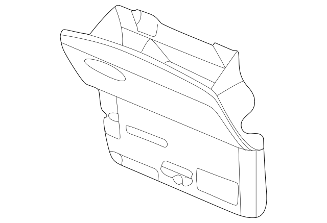 GLOVE BOX DOOR for 2007 Chevrolet Trailblazer 25965193