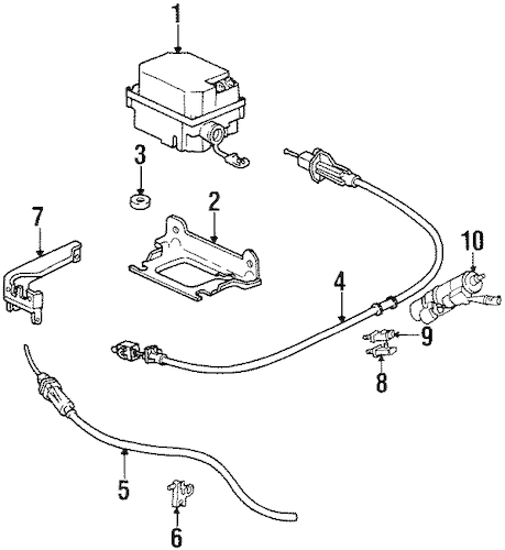 FUEL SYSTEM COMPONENTS for 1997 Buick LeSabre (Custom)