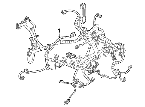 WIRING HARNESS for 2015 Buick Enclave (Leather)