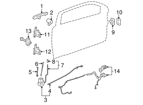 Wiring Diagram: 35 Chevy Cobalt Door Lock Diagram