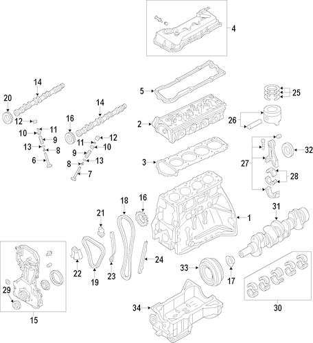 ACTUATOR for 2006 Nissan Frontier|13025-AE02A