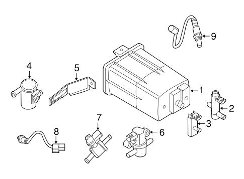 EMISSION SYSTEM for 2015 Nissan Altima