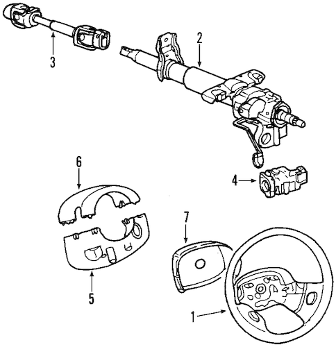 [Remove 1999 Saturn S Series Steering Column Shroud