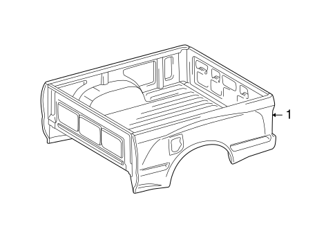 BOX ASSEMBLY for 2001 Toyota Tacoma