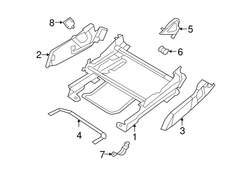 TRACKS & COMPONENTS for 2011 Jeep Patriot