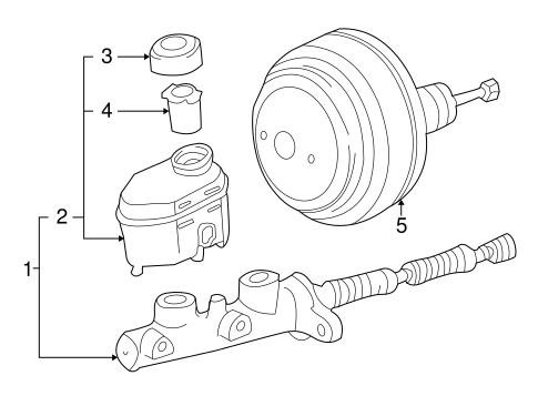 Genuine OEM HYDRAULIC SYSTEM Parts for 2002 Toyota Tundra