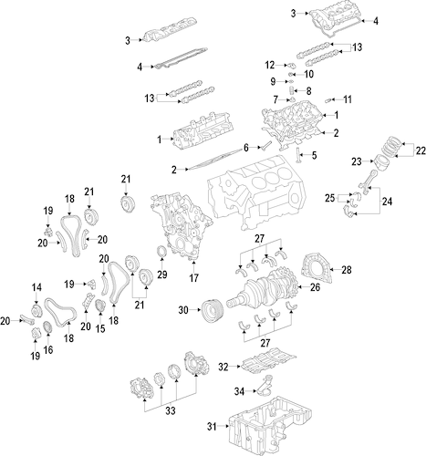12636175 SOLENOID for 2014 Buick LaCrosse