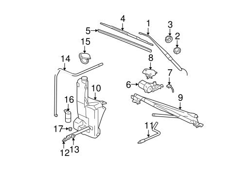 Volvo S60 Engine Diagram Windshield Washer