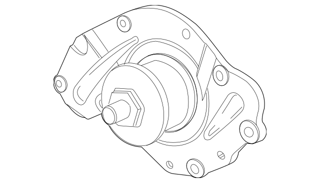 WATER PUMP for 2010 Chrysler Town & Country 4792968AF