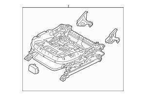Elantra Seat Parts