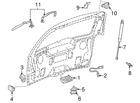 2006 Honda Ridgeline Suspension Diagram, 2006, Free Engine