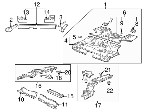 MOUNT BRACKET, RIGHT for 2002 Saturn L300 21019636