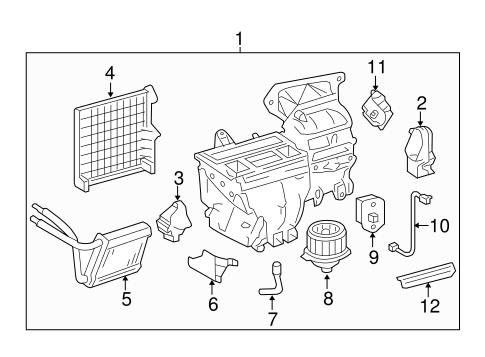 2003 Ford Taurus Air Conditioner Diagram
