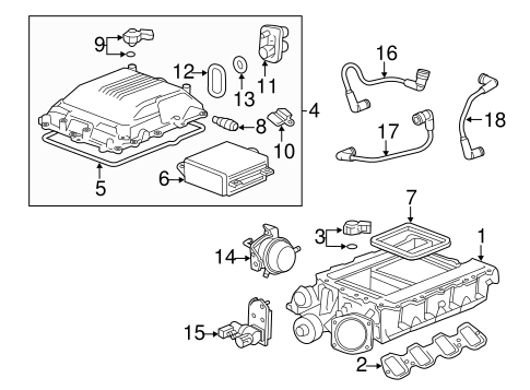 SUPERCHARGER & COMPONENTS for 2011 Cadillac CTS