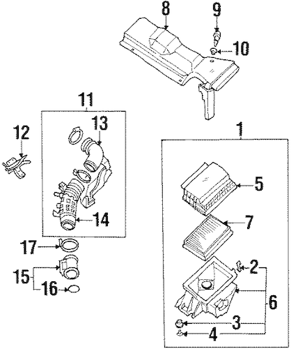 FILTERS for 1998 Infiniti Q45