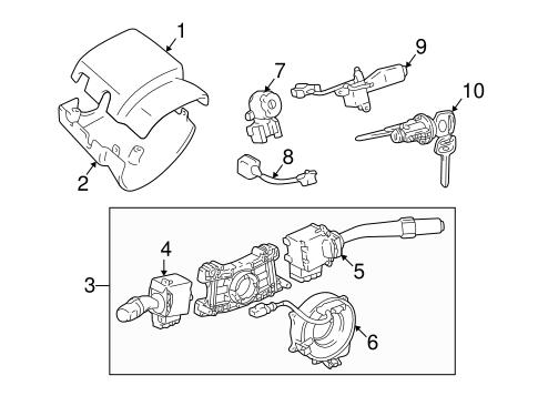 Genuine OEM CRUISE CONTROL Parts for 2002 Toyota Tacoma