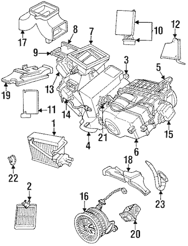 Service manual [Change 1996 Chrysler New Yorker