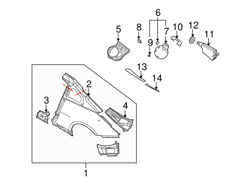 2006 Infiniti G35 Suspension Diagram, 2006, Free Engine