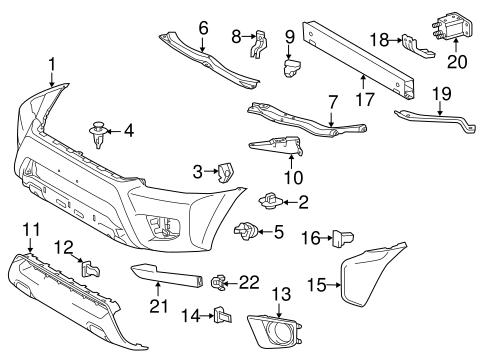 Wiring Diagram: 32 Toyota Tacoma Parts Diagram