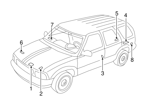 02 F350 7 3 Fuse Box Diagram