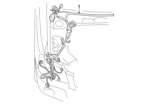 WIRING HARNESS for 2015 Toyota Highlander