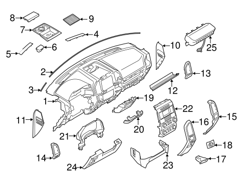 99 Lincoln Town Car Fuse Diagram