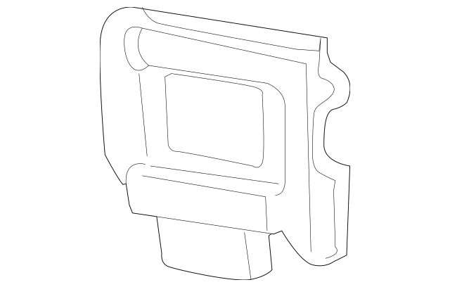 Ford Crown Victoria/Mercury Grand Marquis Airbag Sensor