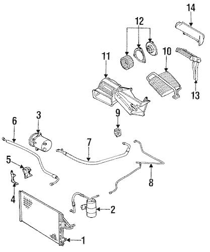 1994 Pontiac Sunbird Parts Diagram • Wiring Diagram For Free