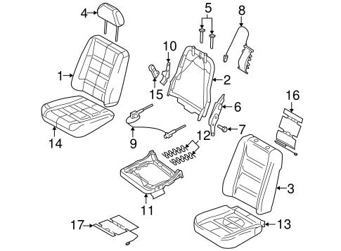 HEATED SEATS for 2006 Mercury Montego