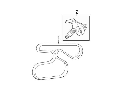 Wiring Diagram: 29 2007 Toyota Camry V6 Serpentine Belt