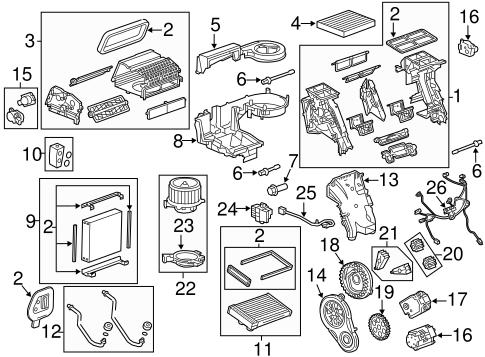 Cadillac Srx A C Evaporator Diagram, Cadillac, Free Engine
