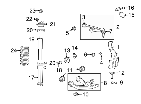 Ford Ranger 1997 2 3 Belt Tensioner Diagram