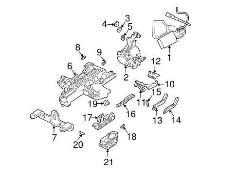 Ford F150 Mustang Lincoln Mercury Steering Column Lock