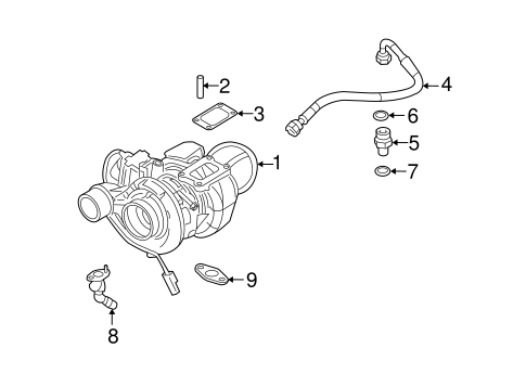 TURBO CHARGER for 2008 Dodge Ram 2500