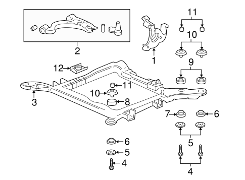 OEM KNUCKLE (25996821) for your GM Vehicle