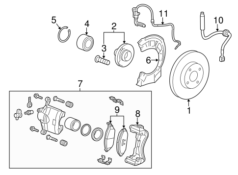 ANTI-LOCK BRAKES for 2013 Chevrolet Spark (LS)